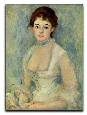 Madame Henriot by Renoir Canvas Print or Poster  - Canvas Art Rocks - 1