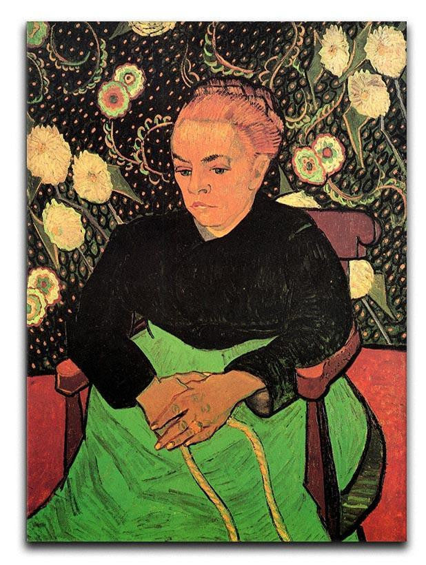 Madame Roulin Rocking the Cradle La Berceuse by Van Gogh Canvas Print or Poster