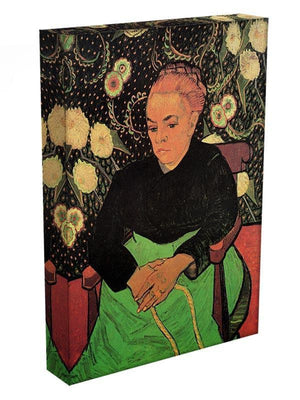 Madame Roulin Rocking the Cradle La Berceuse by Van Gogh Canvas Print & Poster - Canvas Art Rocks - 3