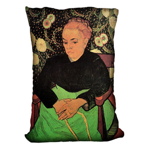Madame Roulin Rocking the Cradle La Berceuse by Van Gogh Throw Pillow