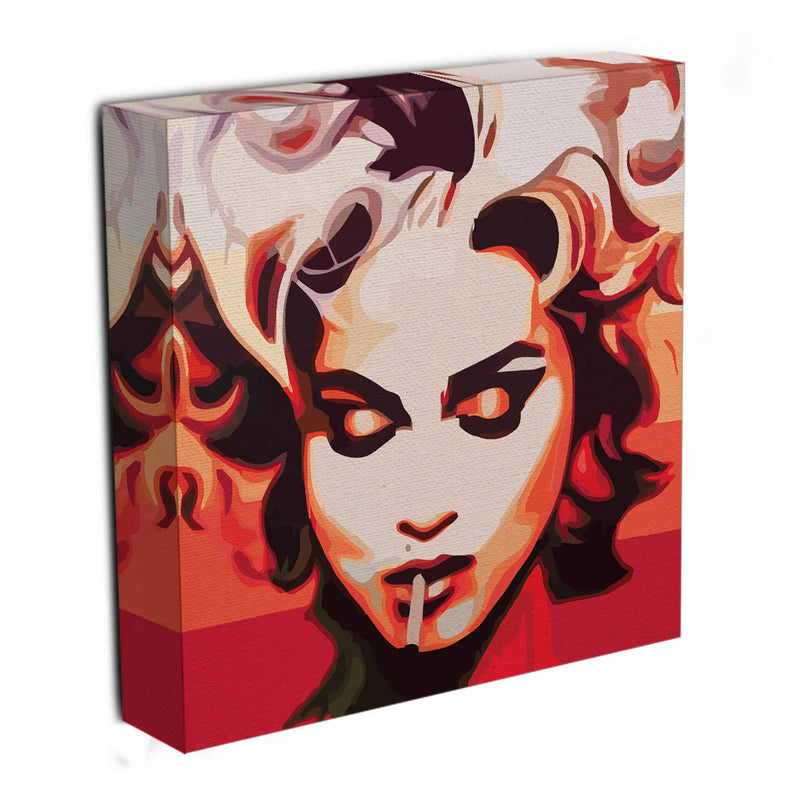 Madonna Cigarette  Canvas Print or Poster