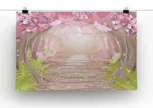 Magic spring forest Canvas Print or Poster - Canvas Art Rocks - 2