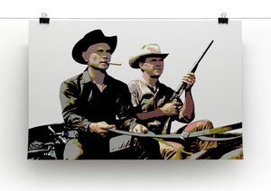 Magnificent Seven Print - Canvas Art Rocks - 2
