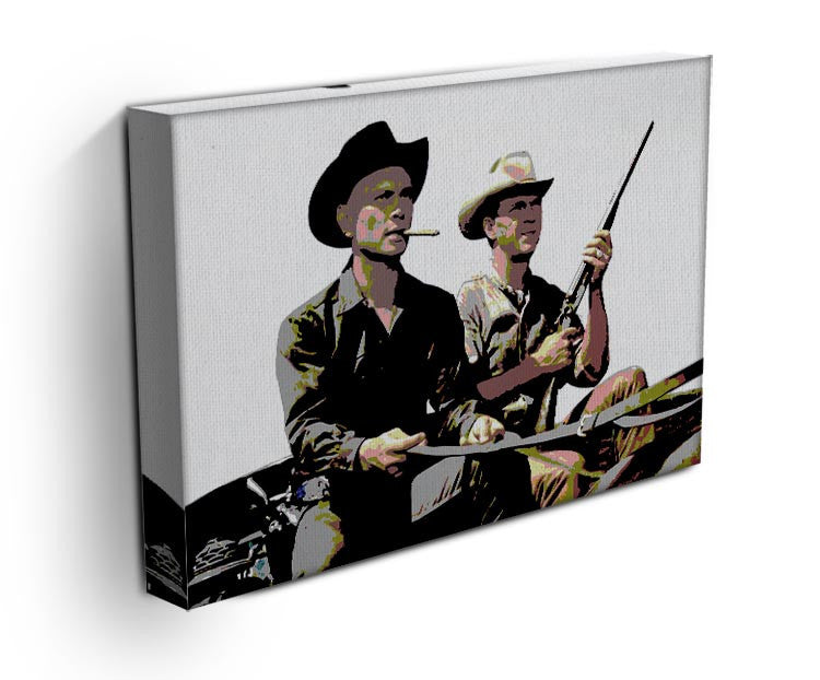 Magnificent Seven Print - Canvas Art Rocks - 3