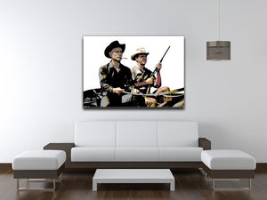 Magnificent Seven Print - Canvas Art Rocks - 4