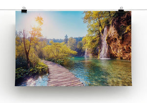 Majestic view on turquoise water Canvas Print or Poster - Canvas Art Rocks - 2