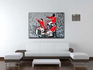 Man United Champions League Final Canvas Print or Poster