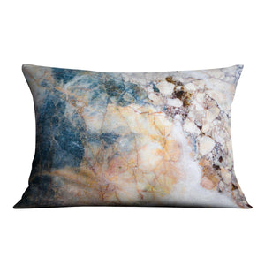 Marble patterned texture Cushion - Canvas Art Rocks - 4
