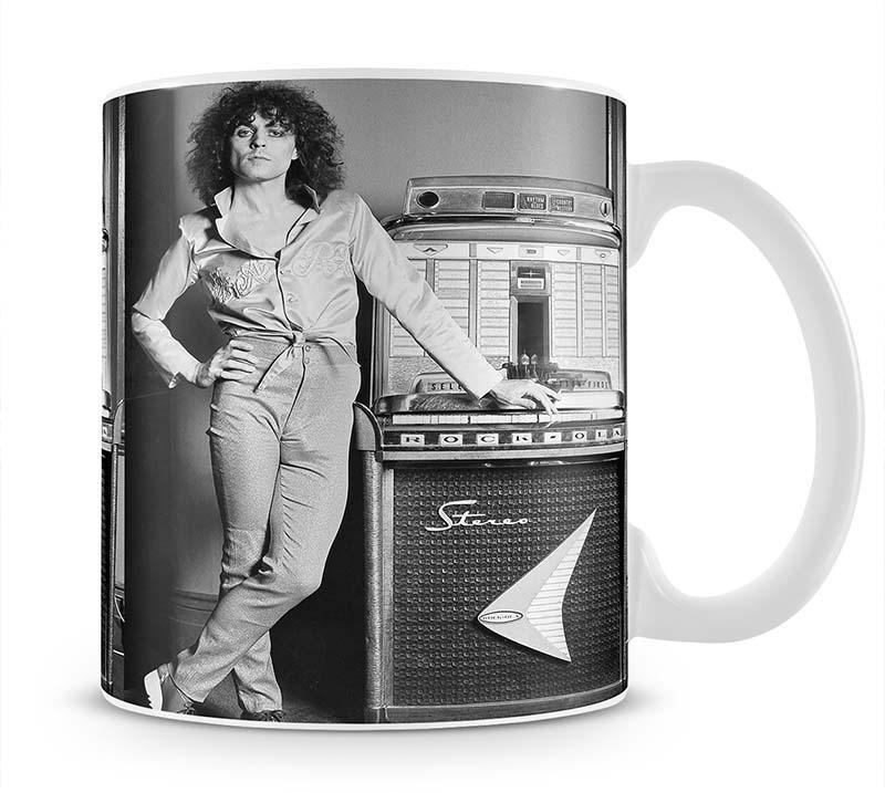 Marc Bolan at jukebox Cup - Canvas Art Rocks - 1