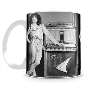 Marc Bolan at jukebox Mug - Canvas Art Rocks - 2