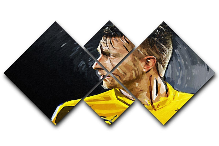 Marco Reus 4 Square Multi Panel Canvas