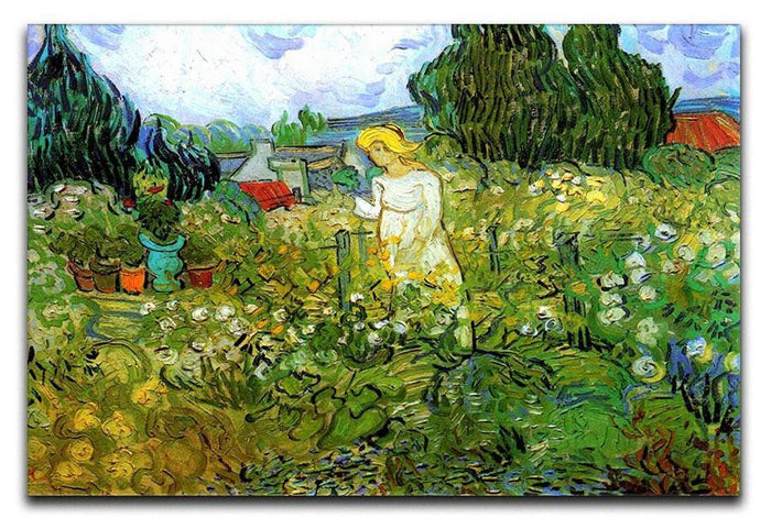 Marguerite Gachet in the Garden by Van Gogh Canvas Print or Poster