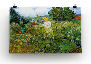 Marguerite Gachet in the Garden by Van Gogh Canvas Print & Poster - Canvas Art Rocks - 2