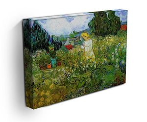 Marguerite Gachet in the Garden by Van Gogh Canvas Print & Poster - Canvas Art Rocks - 3