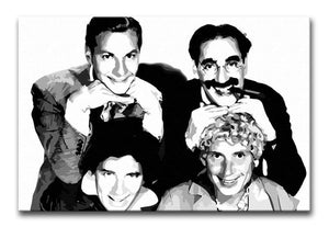 The Marx Brothers Print - Canvas Art Rocks - 1