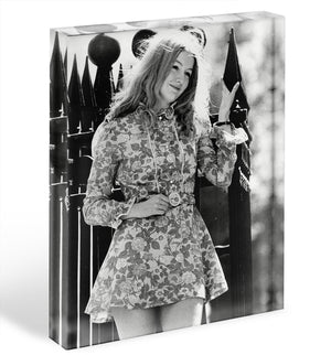 Mary Hopkin singer Acrylic Block - Canvas Art Rocks - 1
