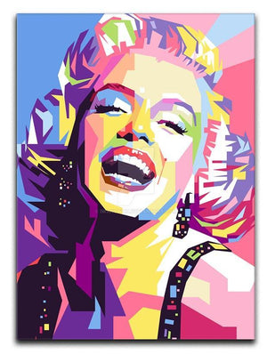 Marylin Monroe Pop Art Canvas Print or Poster  - Canvas Art Rocks - 1