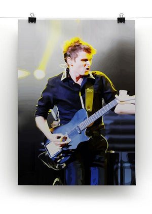 Matt Bellamy Muse Print - Canvas Art Rocks - 2