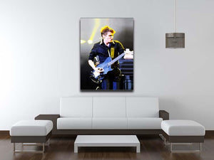Matt Bellamy Muse Canvas Print or Poster