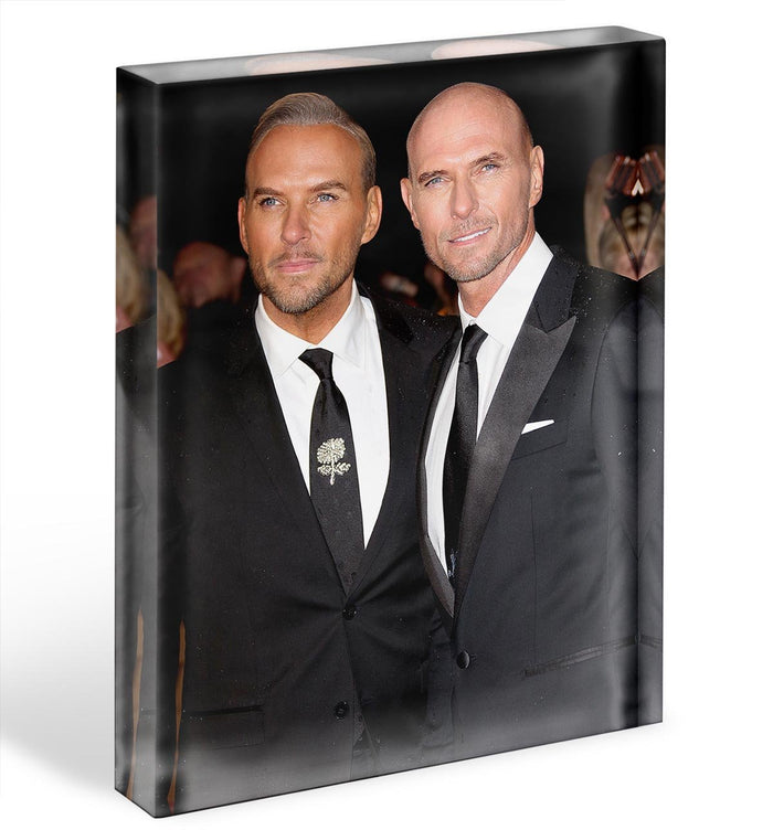 Matt Goss and Luke Goss Acrylic Block