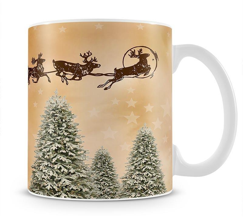 Merry Christmas Mug - Canvas Art Rocks - 1