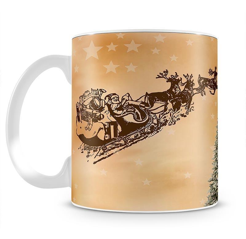 Merry Christmas Mug - Canvas Art Rocks - 2