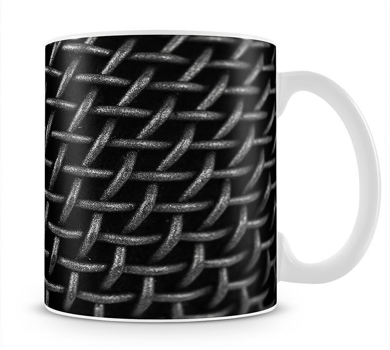 Metal Grid Mug - Canvas Art Rocks - 1