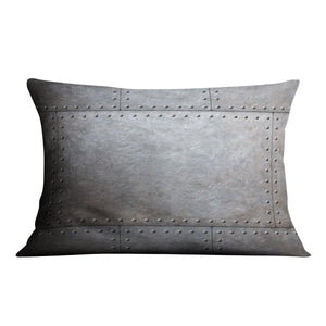Metal armor plates Cushion - Canvas Art Rocks - 4