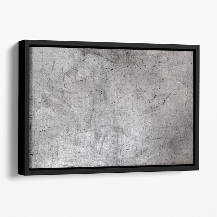 Metal texture Floating Framed Canvas