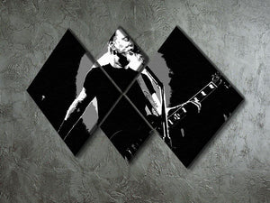 Metallica James Hetfield 4 Square Multi Panel Canvas - Canvas Art Rocks - 2