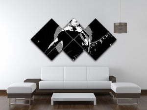 Metallica James Hetfield 4 Square Multi Panel Canvas - Canvas Art Rocks - 3