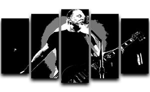 Metallica James Hetfield 5 Split Panel Canvas  - Canvas Art Rocks - 1