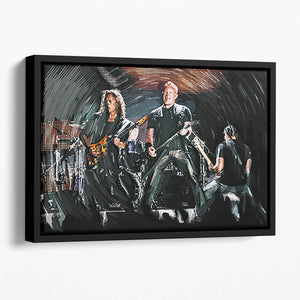 Metallica Live Floating Framed Canvas