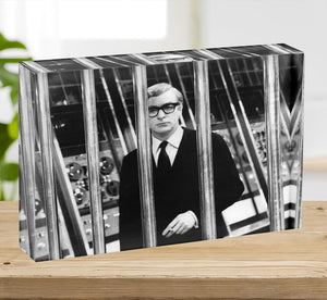 Michael Caine 1967 Acrylic Block - Canvas Art Rocks - 2