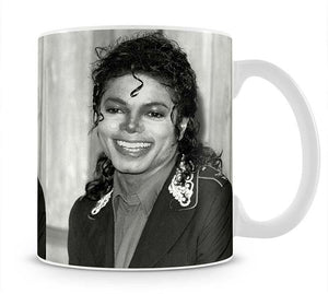 Michael Jackson smiles Mug - Canvas Art Rocks - 1