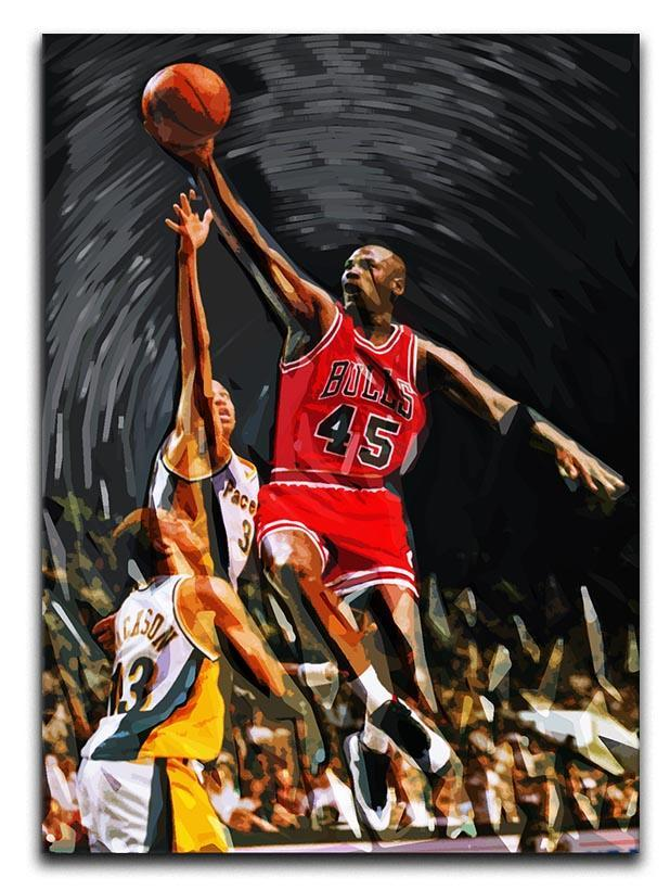 Michael Jordan Canvas Print or Poster  - Canvas Art Rocks - 1