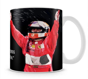 Michael Schumacher Records Mug - Canvas Art Rocks - 1