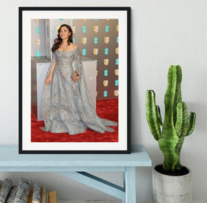 Michelle Yeoh at the BAFTAs Framed Print - Canvas Art Rocks - 1