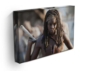 Michonne The Walking Dead Print - Canvas Art Rocks - 3
