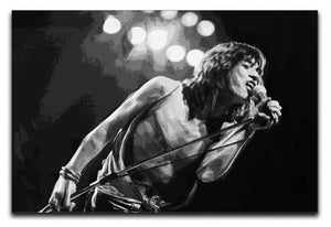 Mick Jagger Print - Canvas Art Rocks - 1