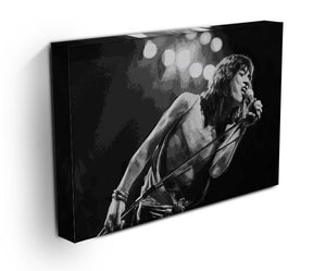 Mick Jagger Print - Canvas Art Rocks - 3