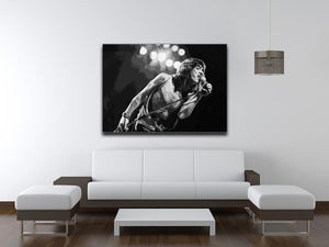 Mick Jagger Print - Canvas Art Rocks - 4