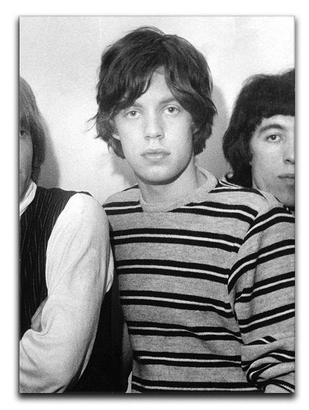 Mick Jagger and mates Canvas Print or Poster  - Canvas Art Rocks - 1