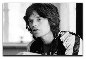 Mick Jagger back home Canvas Print or Poster  - Canvas Art Rocks - 1