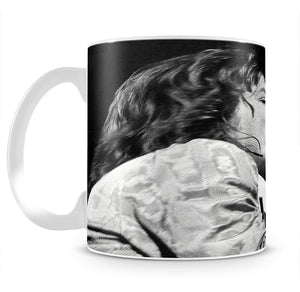 Mick Jagger belts it out Mug - Canvas Art Rocks - 2