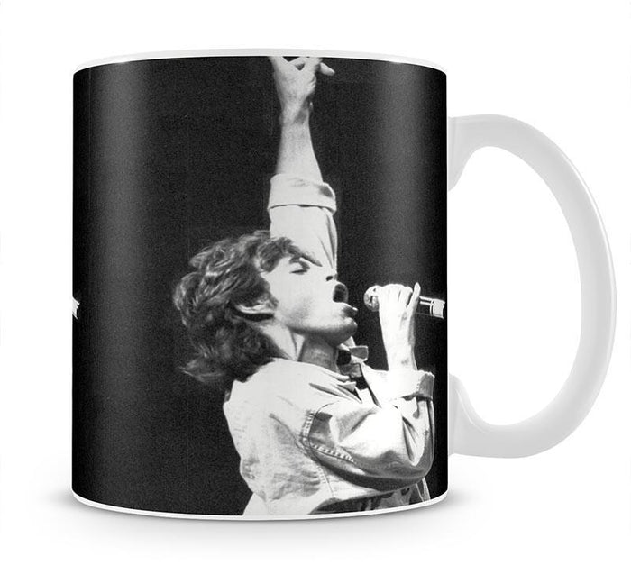 Mick Jagger in Glasgow Scotland Mug