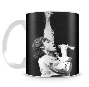Mick Jagger in Glasgow Scotland Mug - Canvas Art Rocks - 2