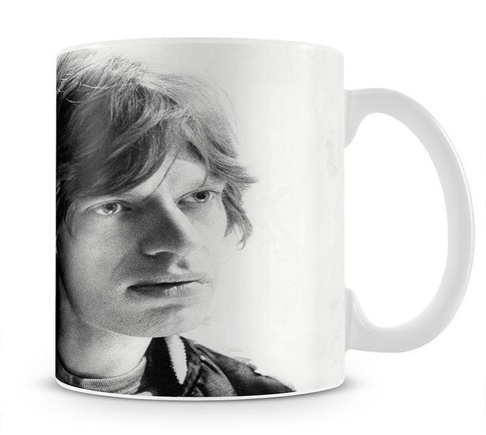 Mick Jagger in profile Mug