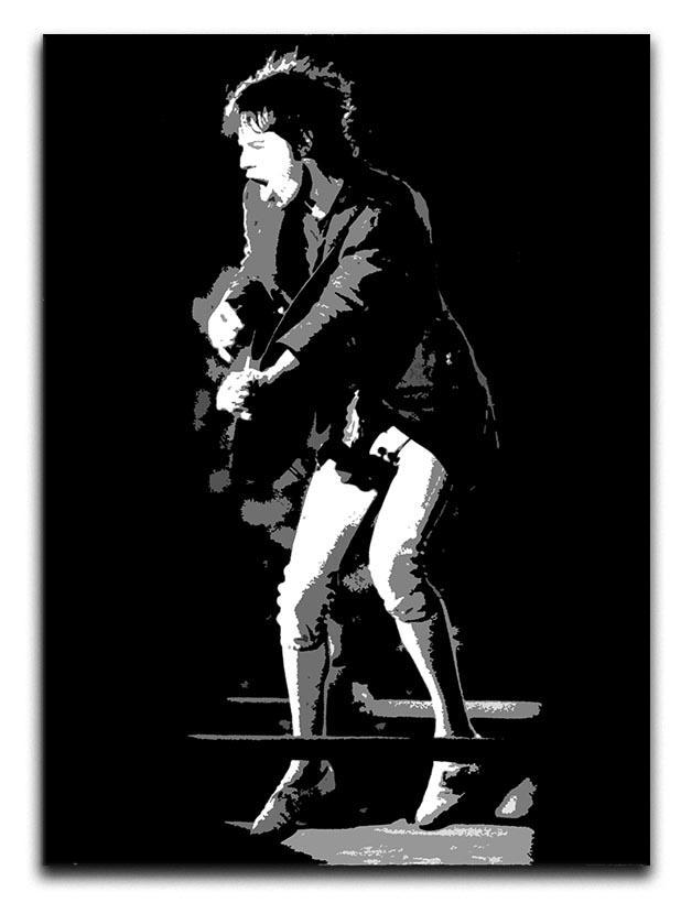 Mick Jagger pedal pusher style Canvas Print or Poster  - Canvas Art Rocks - 1