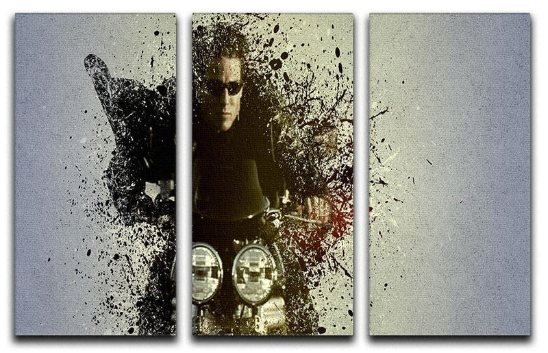 Mission Impossible Pop Art 3 Split Panel Canvas Print - Canvas Art Rocks - 1